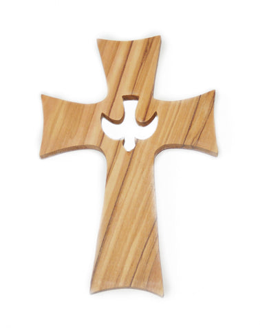 Wall Cross with the Holy Spirit Cutout