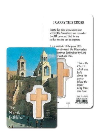 Prayer card Cross in my pocket // CT19
