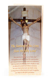 Olive Wood Comfort Cross & Stations of the Cross Prayer Card