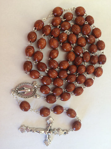 Lady of Grace Rosary and Prayer Card