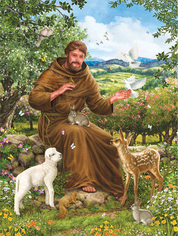 Puzzle St Francis of Assisi