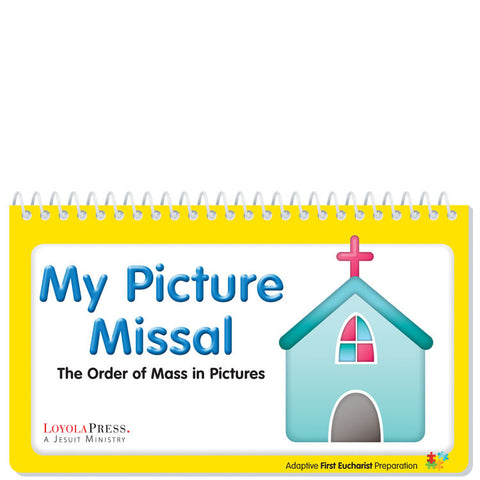 My Picture Missal Flip Book and Mass Picture Cards Pack of 10