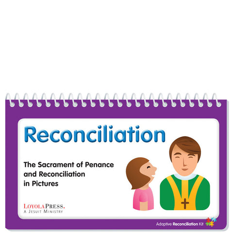 Reconciliation Flip Book and I'm Sorry Picture Cards Pack of 10