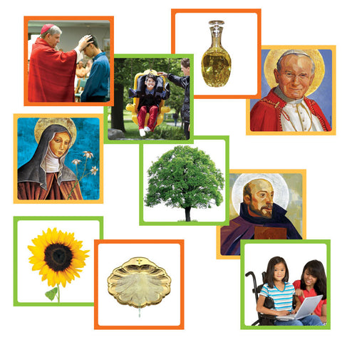 Catholic Faith Picture Cards