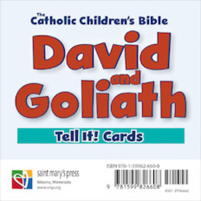 David and Goliath Tell It Cards Deck