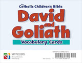 David and Goliath Vocabulary Cards Deck