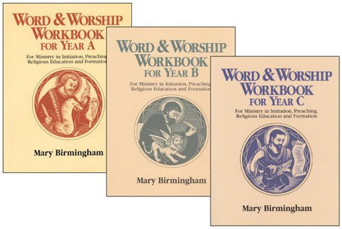 Word & Worship Workbook for Year A Set: For Ministry in Initiation, Preaching Religious Education and Formation