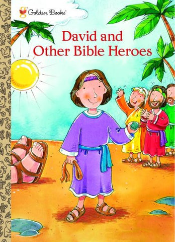David and Other Bible Heroes (Jumbo Coloring Book)