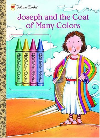 Joseph and The Coat of Many Colors (Color Plus Chunky Crayons)
