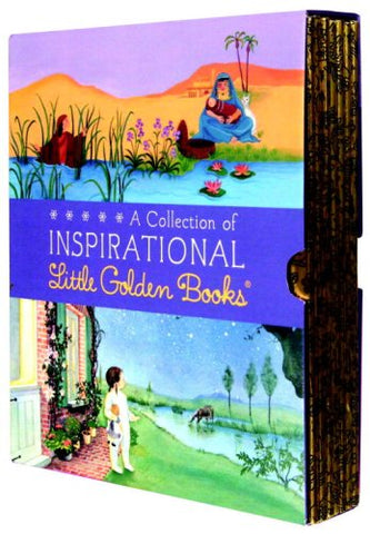 A Collection of Inspirational Little Golden Books 6 copy Box Set