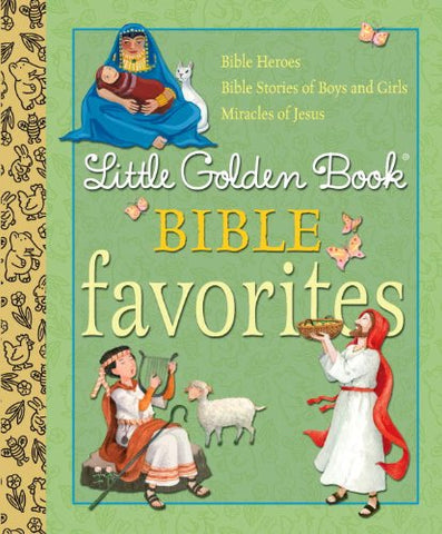 Little Golden Book Bible Favorites (Little Golden Book Favorites)