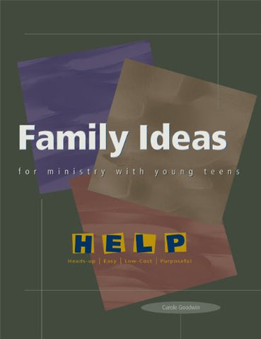 Family Ideas for Ministry with Young Teens (Help Series)