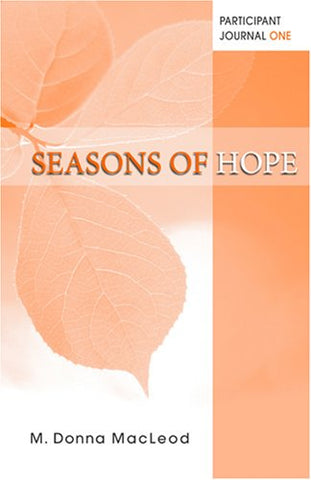 Seasons of Hope Participant Journal One