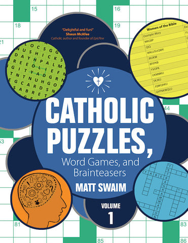 Catholic Puzzles, Word Games, and Brainteasers Volume 1