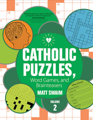 Catholic Puzzles, Word Games, and Brainteasers Volume 2