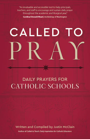 Called to Pray: Daily Prayers for Catholic Schools // Fall mailing 2019