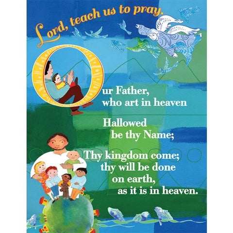 Lord's Prayer Card - Catholic