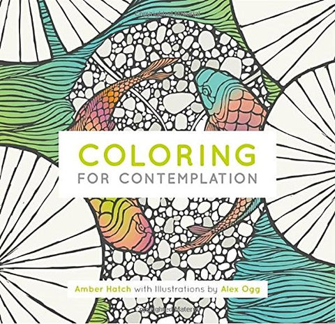 Coloring For Contemplation Pocket Edition (Watkins Adult Coloring Pages)