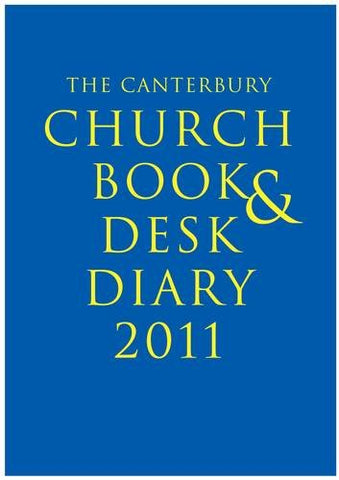 Canterbury Church Book and Desk Diary 2011