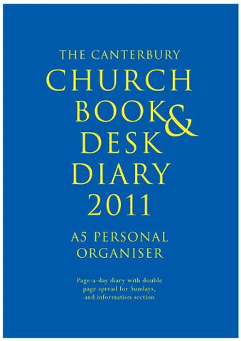Canterbury Church Book and Desk Diary 2011: The-large Personal Organiser
