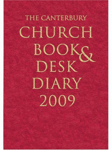 The Canterbury Church Book and Desk Diary 2009