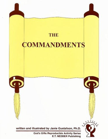 The Commandments (God's Gifts Reproducible Activity)