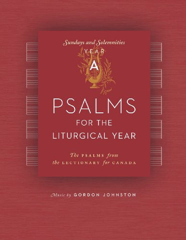 Psalms for the Liturgical Year A (with CD)