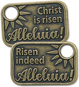 Alleluia Metal Coins (pack of 25)