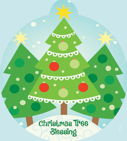 Christmas Tree Blessing: Christmas Tree Ornament (sold as a set of 104) (Advent 2019)