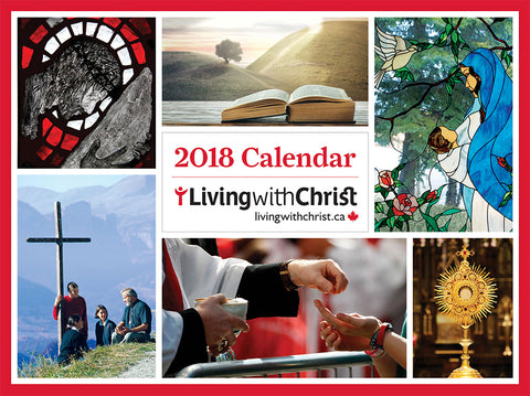 Living with Christ Wall Calendar 2018
