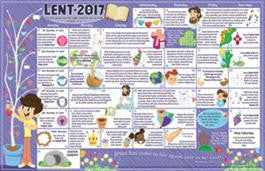 Children's Lent Calendar 2017 (50)