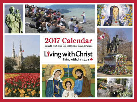 Living With Christ Wall Calendar 2017