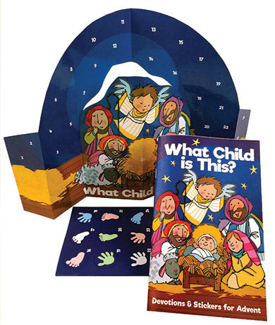 Sticker Activity & Devotion Set - What Child Is This?