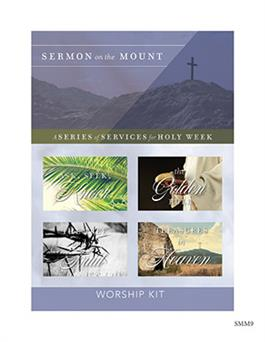 The Sermon On The Mount Holy Week Kit with CD