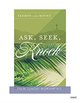 The Sermon On The Mount Palm Sunday Kit
