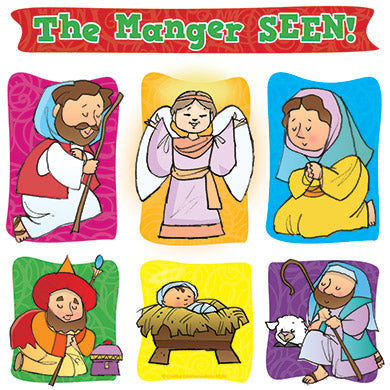 """The Manger SEEN!"" Puzzle Magnet"