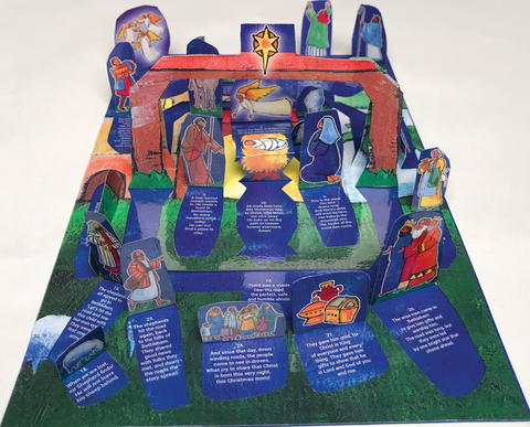 On the Road to Bethlehem: A Pop-Up Window Advent Calendar (Advent 2019)
