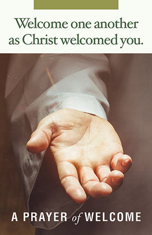 Welcome You Belong Prayer Card (sold in multiples of 50)