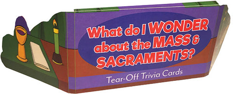 The Mass and Sacraments Trivia
