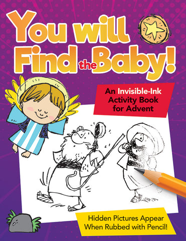 Invisible-Ink Activity Book