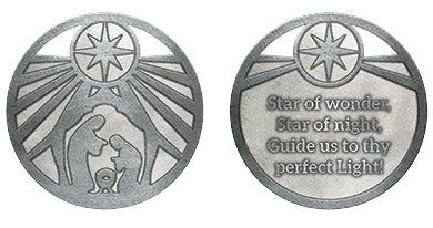 Star of Wonder Metal Coin
