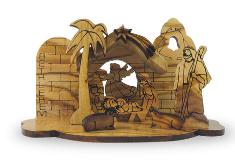 Creche Nativity Ornament
