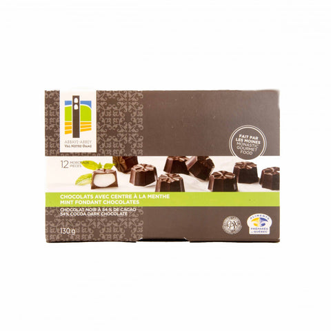 Box of 12 mint chocolates - Abbaye Val Notre-Dame