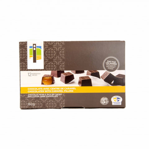 Box of 12 Caramel Chocolates - Abbaye Val Notre-Dame