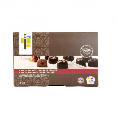 Box of 6 Cherry Chocolates - Abbaye Val Notre-Dame