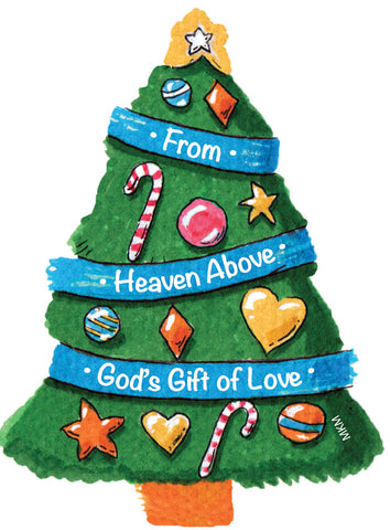 Christmas Tree: Advent Magnet (Sold in multiples of 25 per design)