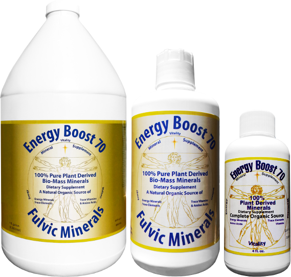 Energy Boost 70 Fulvic Minerals®