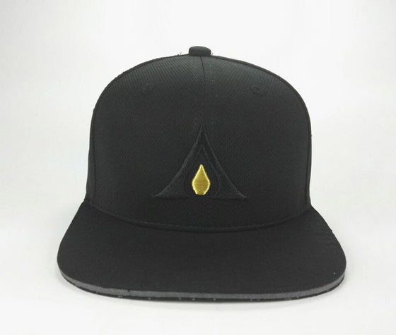 "Auric Gold ""OG"" Logo Premium Poly-Mesh Adjustable Cap-Auric Gold"