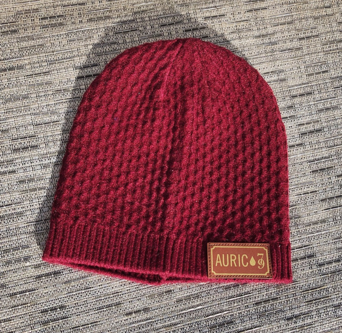 "Auric Gold 100% Cashmere ""Traditional 79"" Beanie Limited Release 79-0022"
