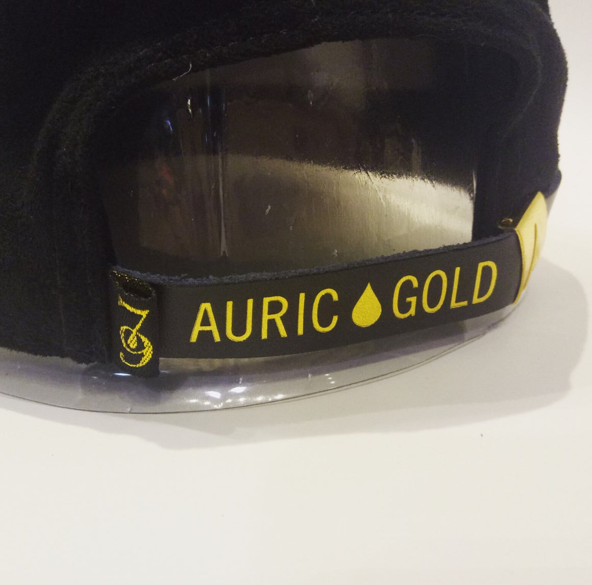 "Auric Gold ""The Don Print""- Suede Dipped Edition Premium Adjustable Cap Limited Release 79-0018"